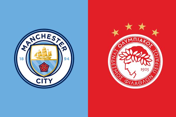 Soi kèo Manchester City vs Olympiakos Piraeus, 03h00 ngày 04/11: UEFA Champions League